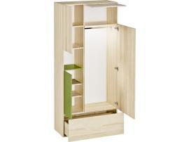Шкаф 2-х дверный 3D изображение 2