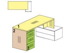 Стол для установки на тумбу Солнечный город 51b001