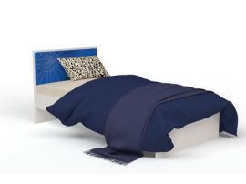 Кровать с кожаной вставкой Человек-Паук