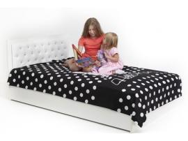 Кровать классика Фея Swarovski 120 с подъемным механизмом изображение 1
