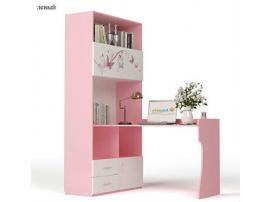 Стол - стеллаж Фея (розовый) изображение 1