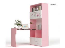 Стол - стеллаж Фея (розовый) изображение 2