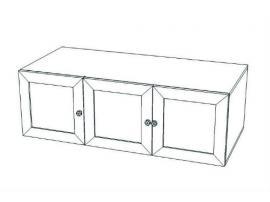 Антресоль на 3-х дверный шкаф Классика изображение 2