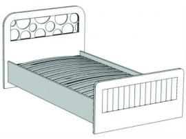 Кровать отдельностоящая VB1-10 Velvet