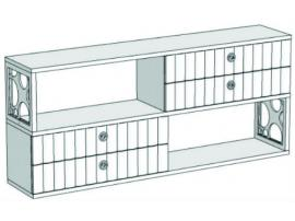 Горка 2-х этажная с 4-мя ящиками VG4-154Q Velvet