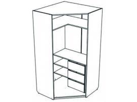 Шкаф-трапеция с ящиками Junior JSU31Q с рисунком изображение 4