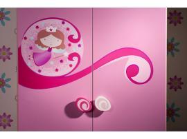 Шкаф 2-х дверный Princess Cilek изображение 4