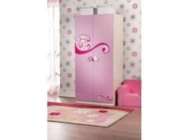 Шкаф 2-х дверный Princess Cilek изображение 6