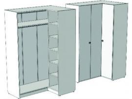 Шкаф-гардероб угловой VSU-41Q Velvet изображение 2