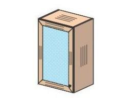Шкаф навесной Соня 69H023