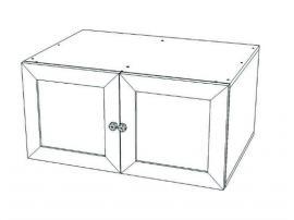 Антресоль на 2-х дверный шкаф Классика изображение 2