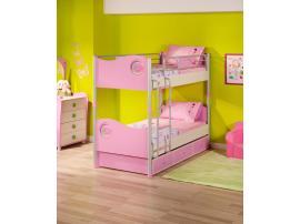 Кровать 2-х ярусная Princess 90х200 (1401) изображение 6