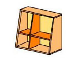 Шкаф навесной Силуэт СФ-266302