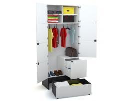 Шкаф 2- х дверный Young Users изображение 3