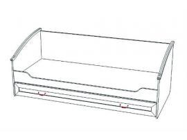 Кровать нижняя с дополнительным спальным местом Классика изображение 2