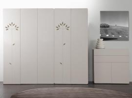 Шкаф 4-дверный с рисунком 2piR изображение 2
