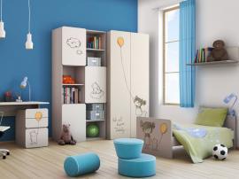 Шкаф книжный с рисунком 2piR изображение 3
