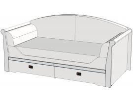 Кровать-диван Calypso Wood 7BB4Q