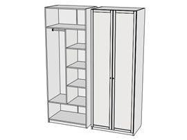 Шкаф комбинированный Calypso Wood 7CLC