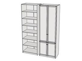 Шкаф 4-х дверный Calypso Wood 7CLD