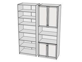 Шкаф 4-х дверный Calypso 7CLH