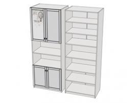 Шкаф 4-х дверный Calypso Wood 7CLH изображение 2