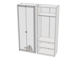 Шкаф для одежды Calypso Wood 7CLVP изображение 2