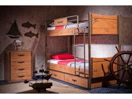 2-х ярусная кровать Pirate (1401) изображение 2