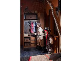 3-х дверный шкаф Pirate (1002) изображение 2