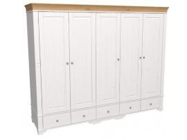 Шкаф 5 дверный с глухими дверями Бейли изображение 2