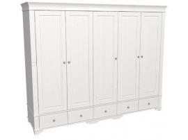 Шкаф 5 дверный с глухими дверями Бейли изображение 1