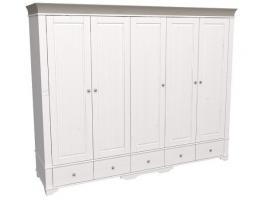 Шкаф 5 дверный с глухими дверями Бейли изображение 3