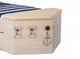 Ящик для игрушек приставной Пират изображение 3