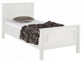 Кровать Рауна 90 (белый воск) изображение 1