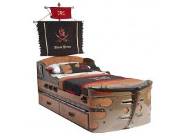 Кровать-корабль Pirate (1308) изображение 2