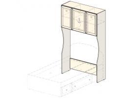 Модуль для встраивания кровати (1250 мм) Эридан (без рисунка) 93H070