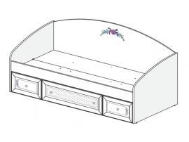Кровать Белоснежка (без рисунка) 93K005