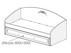 Кровать с выкатным спальным местом Белоснежка 93K018