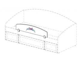 Ограждение кровати Белоснежка (без рисунка) 93K026