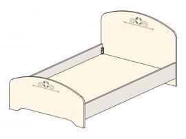 Кровать Эридан (без рисунка) 93K032