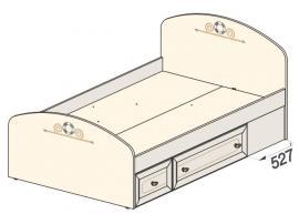 Кровать Эридан (без рисунка) 93K036