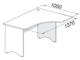 Стол Белоснежка (без рисунка) 93S006