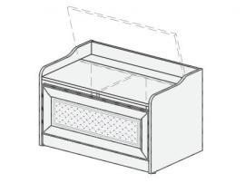 Тумба-ящик для игрушек Белоснежка (без рисунка) 93T052
