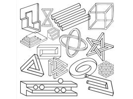 Накладка для фасада - Невозможные фигуры Young Users изображение 1