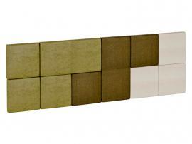 Изголовье кровати квадратное 3D изображение 6
