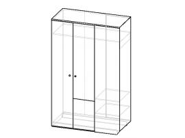 Шкаф угловой универсальный Индиго изображение 2