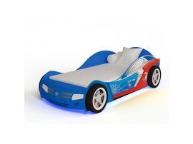 Кровать машина Человек-Паук (синяя) изображение 2