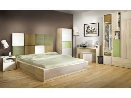 Кровать двуспальная 3D (140*200) изображение 4