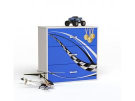 Комод Formula (синий)