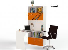 Стол - стеллаж Formula (оранжевый) изображение 2